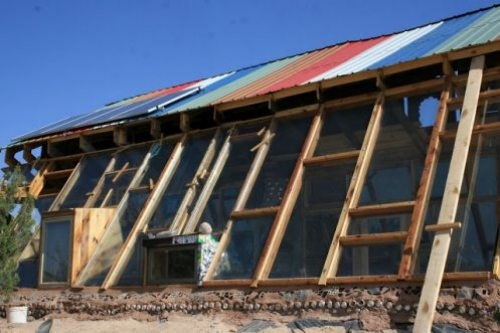 Earthship; New Mexico
