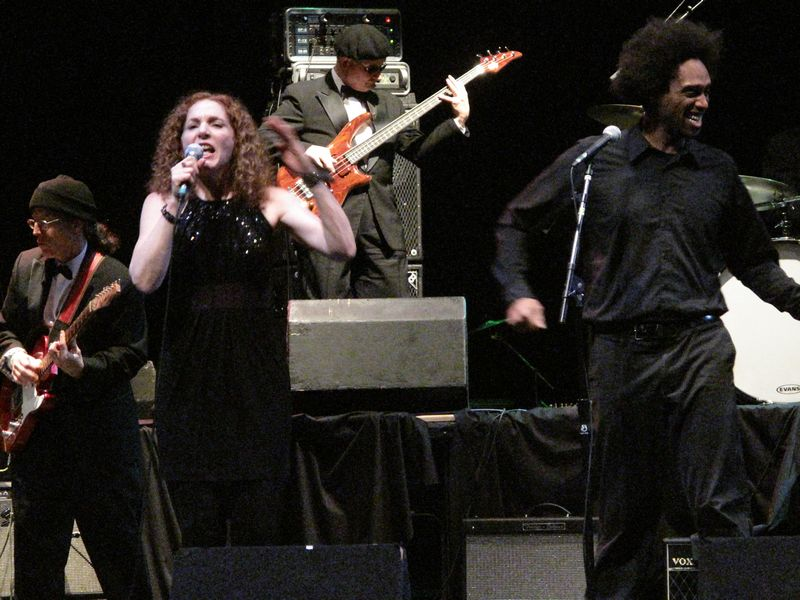 Motown Tribute at Sondheim Theater Fairfield Convention Center, January 30, 2010