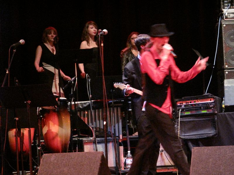 Motown Tribute at Sondheim Theater Fairfield Convention Center, January 31, 2010